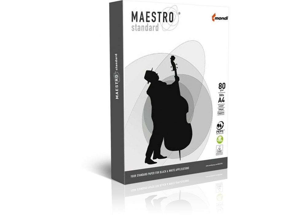 Бумага Maestro Standart A4 500л