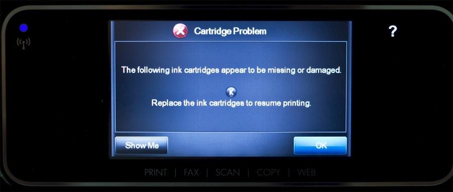 Обновление прошивки принтера от HP